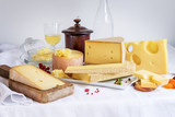 tasted cheese and food