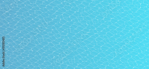 Vector Caustic of Pool Water Seamless Texture. Swimming pool underwater seamless caustic illustration