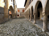 monastery of the Holy Cross, Omodos, Cyprus.