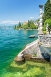 amazing lake Como in Varenna village, Italy - 193188661