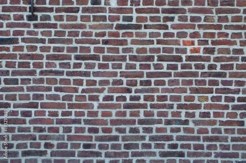 Foto op Canvas Baksteen muur Alter Klinker