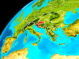 Croatia from space - 193213892
