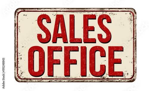 Sales office vintage