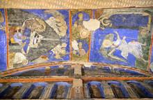 """Постер, картина, фотообои """"Ancient mural painting in Tokali Kilise, Church of the Buckle in Goreme, Cappadocia, Turkey"""""""
