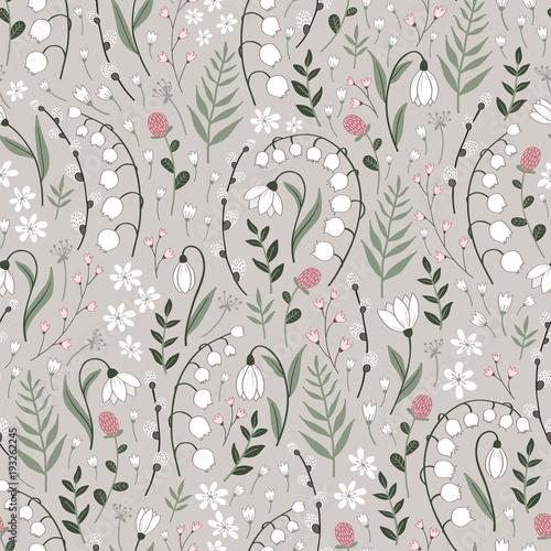 Seamless spring pattern - 193262245