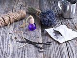 Lavenrer sachet and essential oil - 193265689