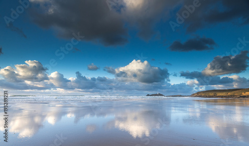 Godrevy Beach and Rocks 11th December 2017 © Bob