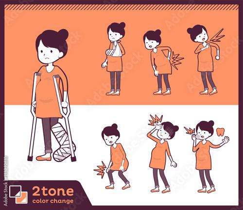 2tone type Pregnant women_set 08