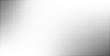 Halftone effect vector background - 193297017