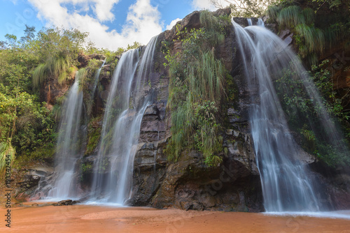 Cuevas Waterfalls, Santa Cruz, Bolivia - 193342454