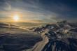 Sakhalin winter, sunset - 193376274