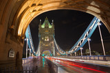 London - The Tower Bride at night. - 193391819