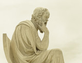 Athens Greece, Socrates the ancient philosopher statue - 193396621