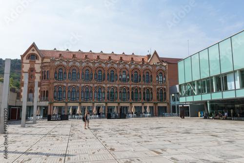 Foto op Canvas Barcelona Cosmo Caixa, a science museum located in Barcelona, Catalonia, Spain.