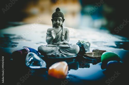 Plexiglas Boeddha Buda