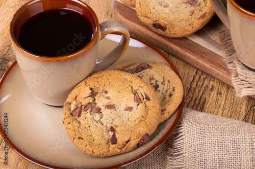 Sticker Chocolate Chip Cookies