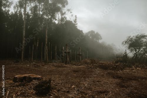 Aluminium Chocoladebruin Landscape