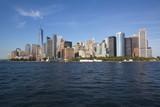 Skyline of South Manhattan in New York  - 193447848