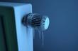 Eingefrorenes Thermostat