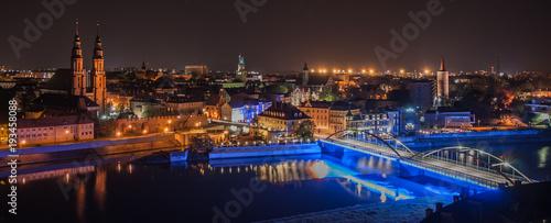 Miasto Opole nocą  - 193458088