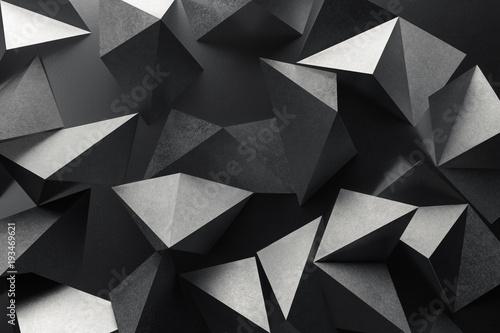 Skład z geometrycznymi kształtami, abstrakcjonistyczny tło