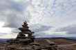 Cairn near the Yukon/Alaska border