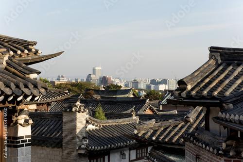 Papiers peints Seoul Alt und neu in Seoul, Südkorea