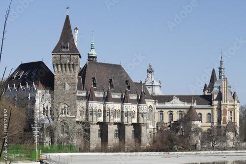 Fotobehang Boedapest Schloss der Stadt Budapest