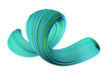 Abstract colorful 3D swirl - 193486808