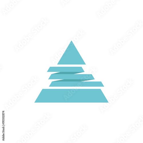 Fototapeta Logo triangle