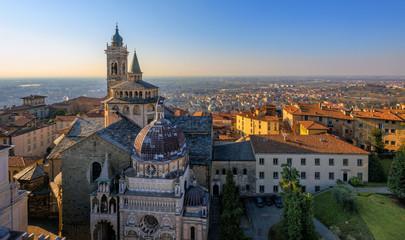 Panorama of Bergamo Old Town, Italy © Boris Stroujko