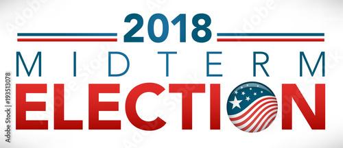 Baner nagłówka wyborów z Głosowaniem