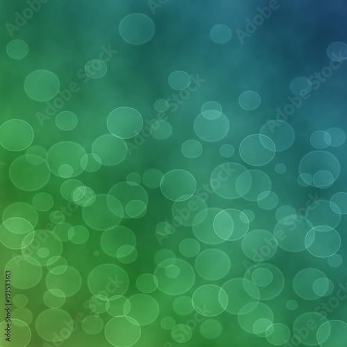 Fotobehang Abstractie zielone tło
