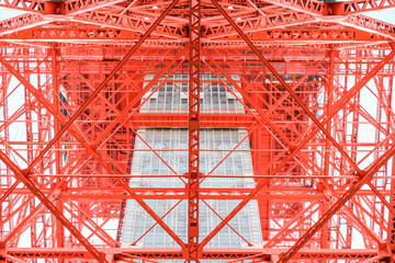 Tokyo structure close up