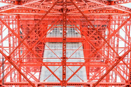 Plexiglas Tokio Tokyo structure close up