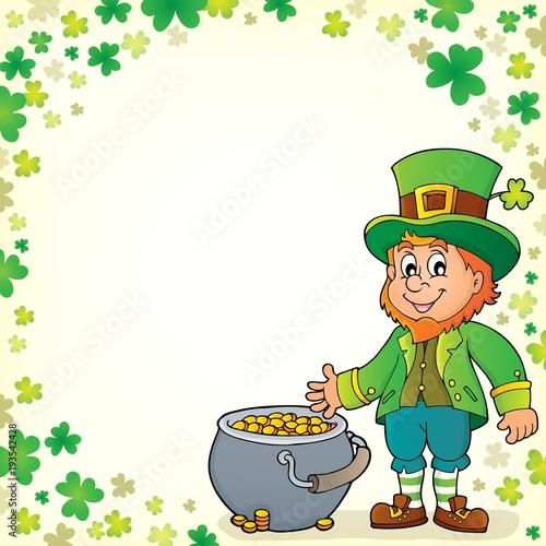 Foto op Canvas Voor kinderen Leprechaun theme image 6