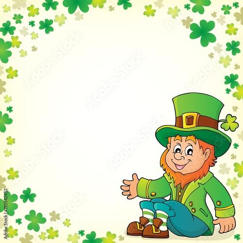 Foto op Canvas Voor kinderen Sitting leprechaun theme image 5