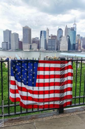 Foto op Aluminium New York Lower Manhattan from Brooklyn