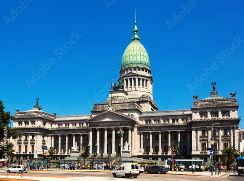 Fotobehang Buenos Aires Palace of the Argentine National Congress