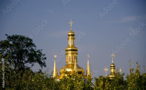 Fotobehang Kiev Kiev-Pechersk Lavra