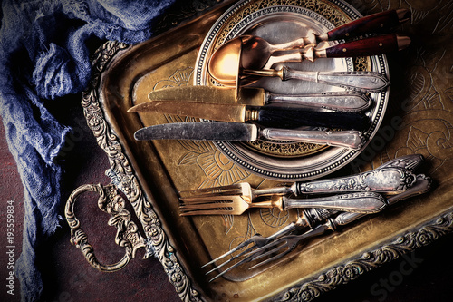 Stare wyroby ze srebra