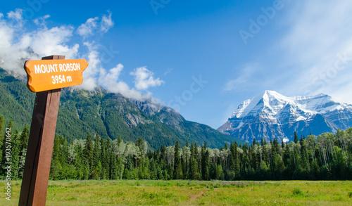 Fotobehang Canada Mount Robson-Canada