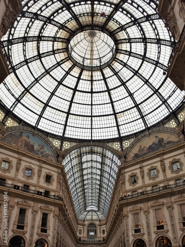 Foto op Canvas Milan The Galleria Vittorio Emanuele II