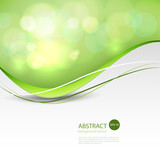 Vector Abstract smooth color wave background.Vector illustration eps 10 - 193588633
