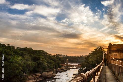 Plexiglas Rio de Janeiro por do sol no rio