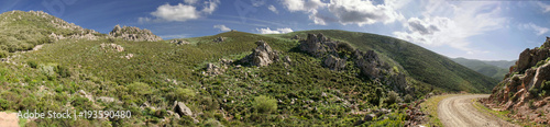 Deurstickers Panoramafoto s Sardegna, Villasalto, oasi naturale di Monte Genis