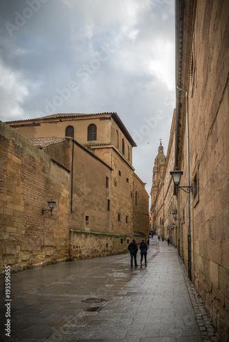 Salamanca, ciudad histórica y cultural, España.