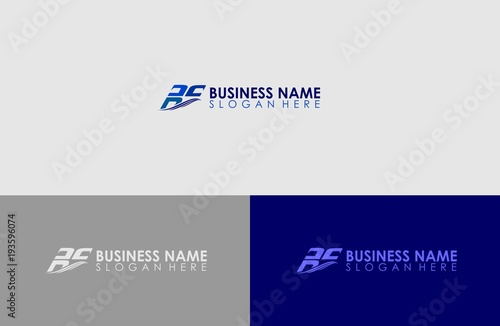 latters logo name business