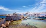 Travel Greece: Picturesque Naousa village, Paros island, Cyclades, Greece - 193607469