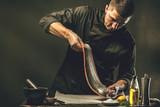 Chef Koch,Lachs zubereitung - 193614401